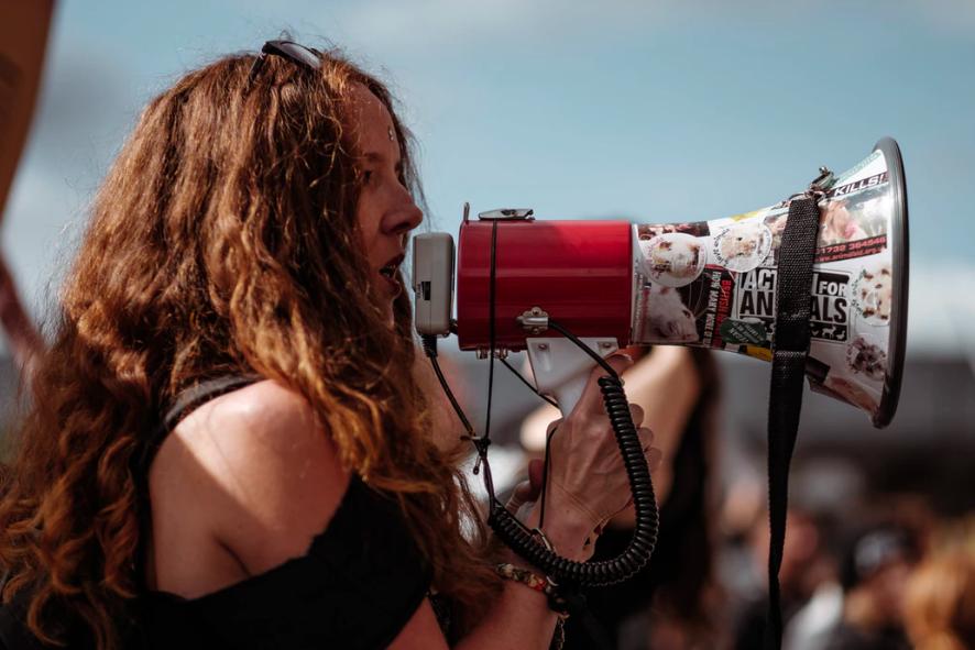 speak out loud